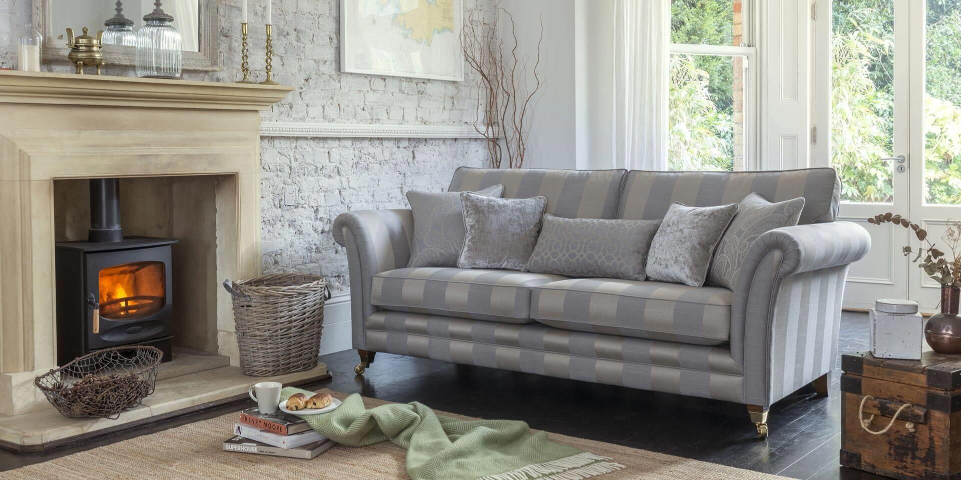 hussen fur sofa blau, alstons - sofas for living, Design ideen
